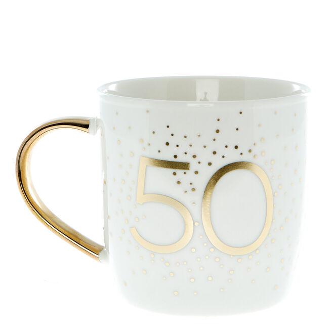 50th Birthday Mug In A Box - Happy Birthday To You