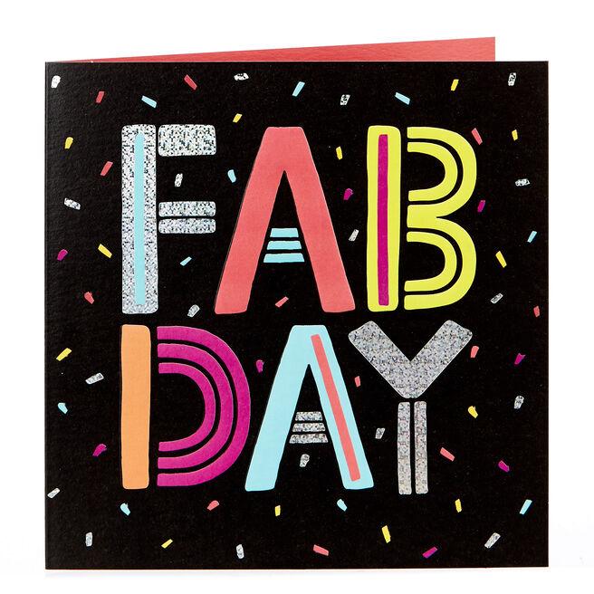 Blank Card - Fab Day