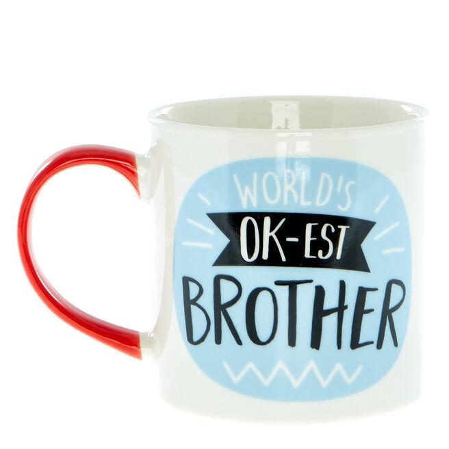 World's Ok-Est Brother Mug