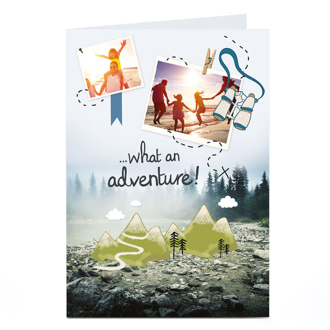 Photo Card - What An Adventure!