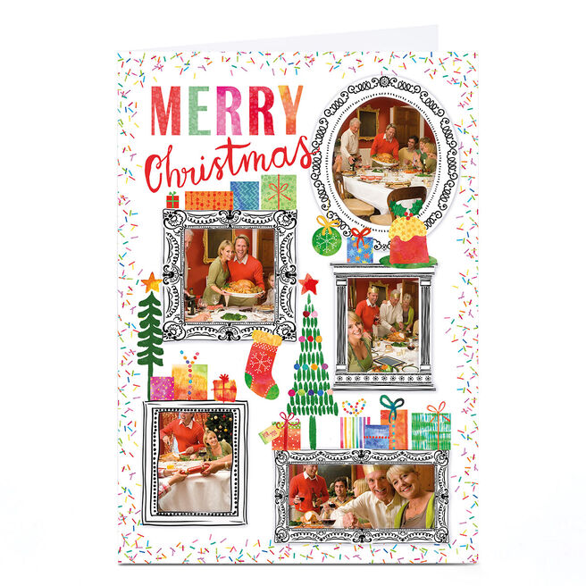 Photo Nik Golesworthy Christmas Card - Colourful Frames