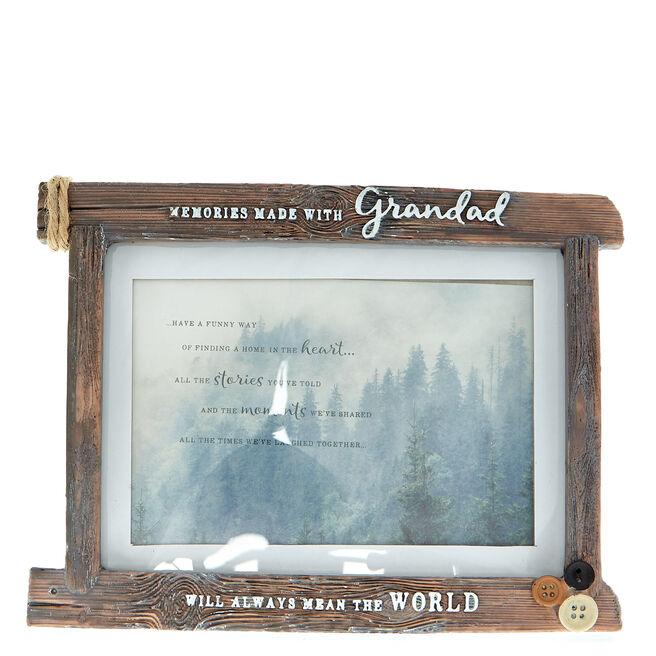 Memories Made With Grandad Photo Frame