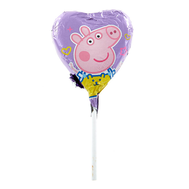Peppa Pig Milk Chocolate Lollipop