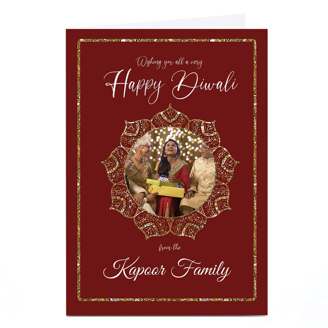 Photo Roshah Designs Diwali Card - Happy Diwali To All