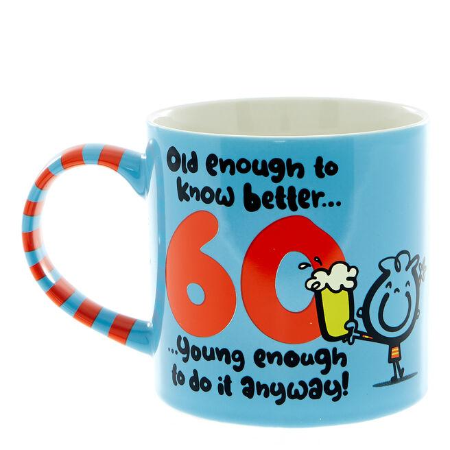 Fruitloops 60th Birthday Mug
