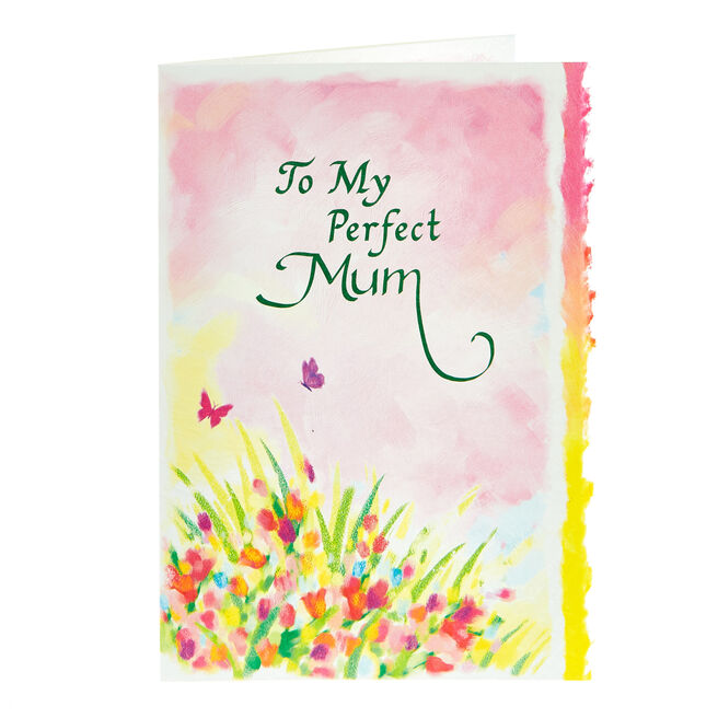 Blue Mountain Arts Card - To My Perfect Mum