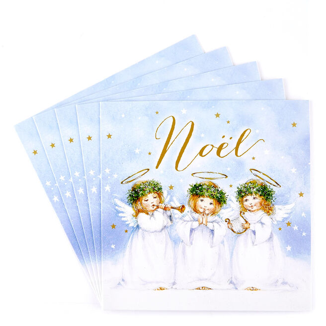 Charity Christmas Cards - Angel Choir Pack Of 10