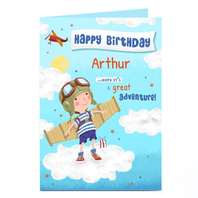 Personalised Card - Boy Birthday