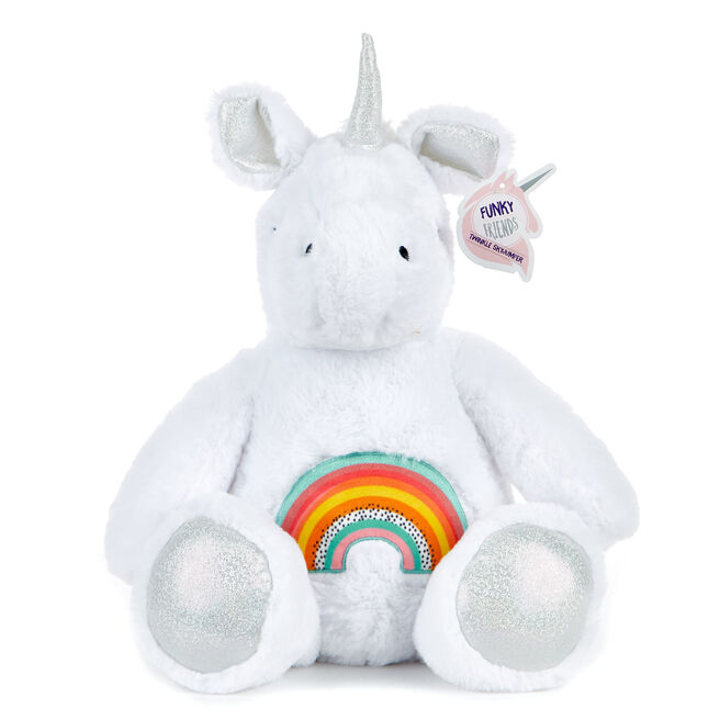 Rainbow Unicorn Soft Toy