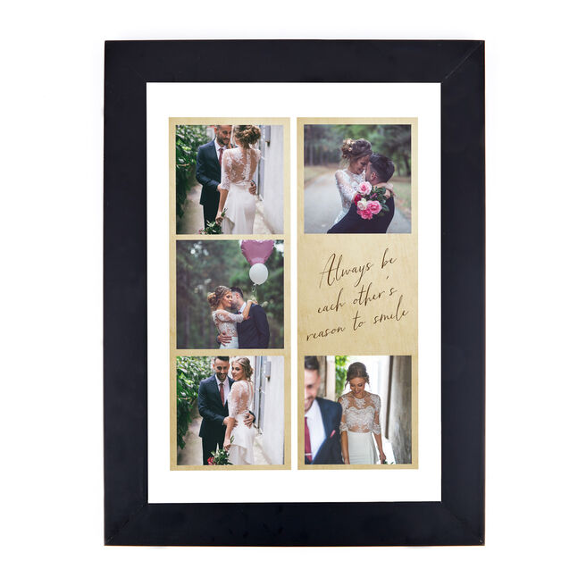 Personalised Photo Print - Each Other's Reason To Smile