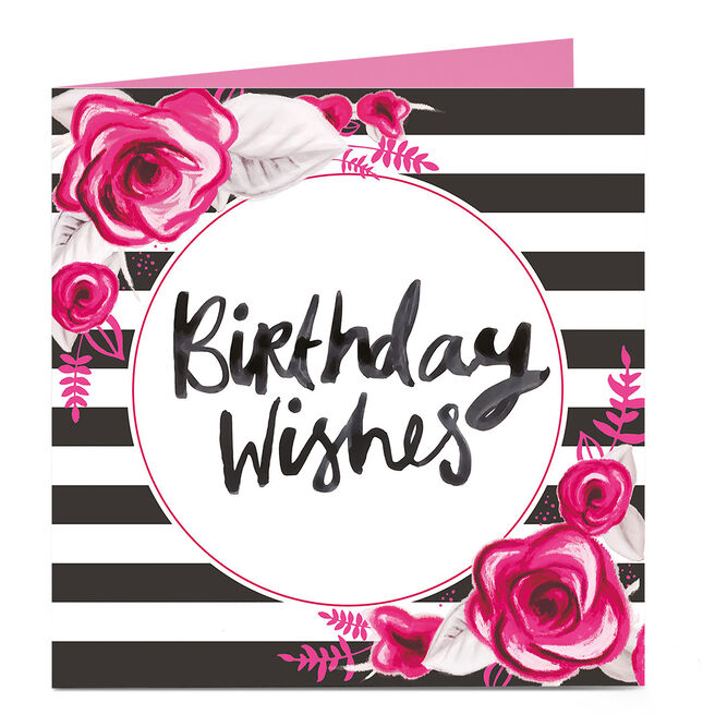 Personalised Bright Ideas Card - Birthday Wishes
