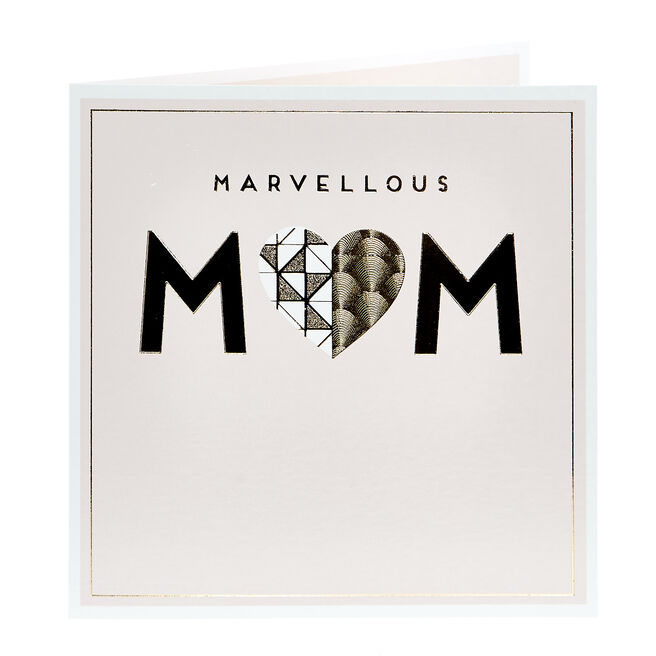 Charity Mother's Day Card - Marvellous Mum