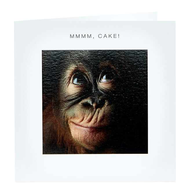 Birthday Card - Mmmm, Cake!