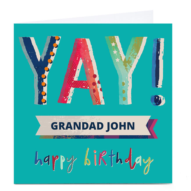Personalised Kerry Spurling Card - Happy Birthday