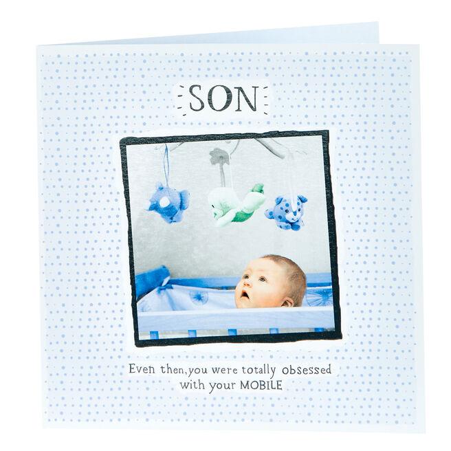 Birthday Card - Son, Mobile