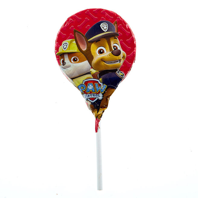 Paw Patrol Milk Chocolate Lollipop