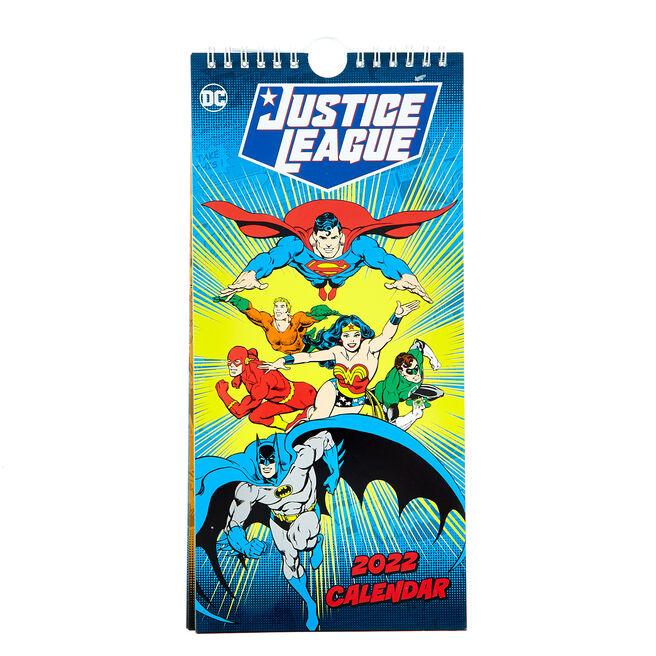 DC Justice League Slim 2022 Calendar