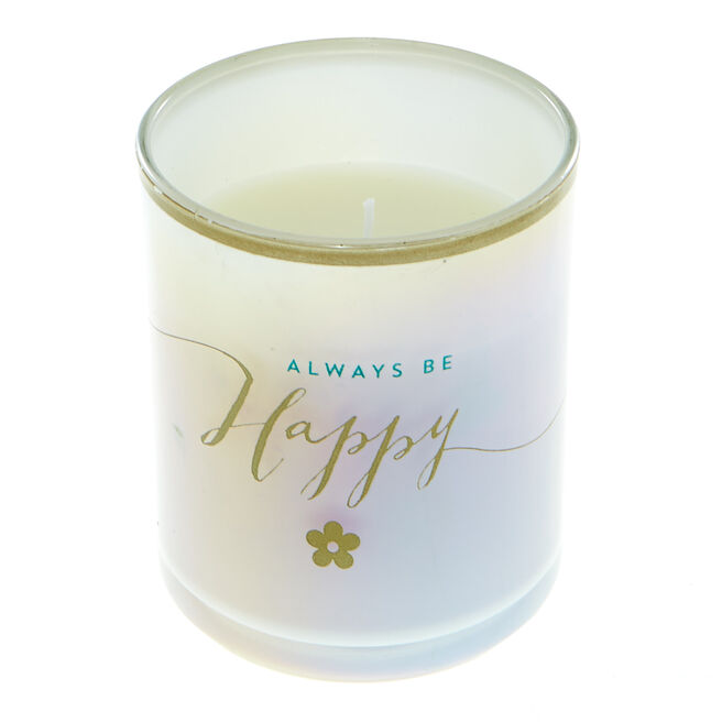 Always be Happy Boxed Candle