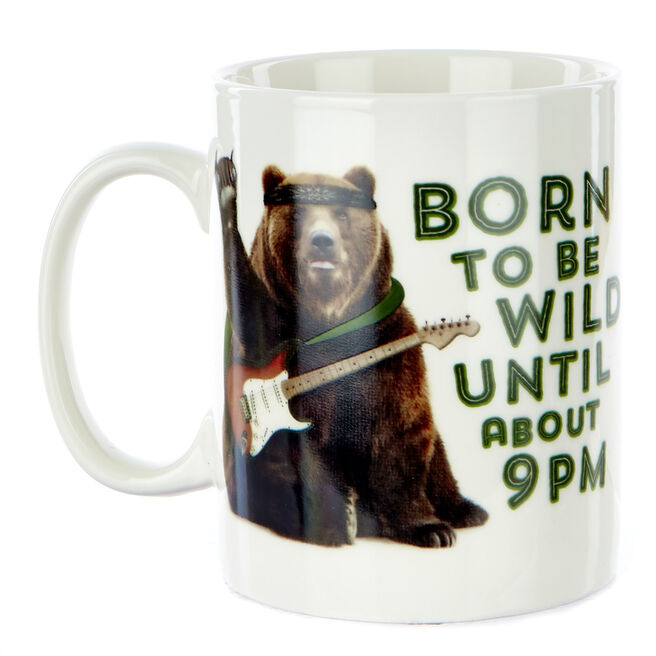 "Large Born To Be Wild"" Mug 