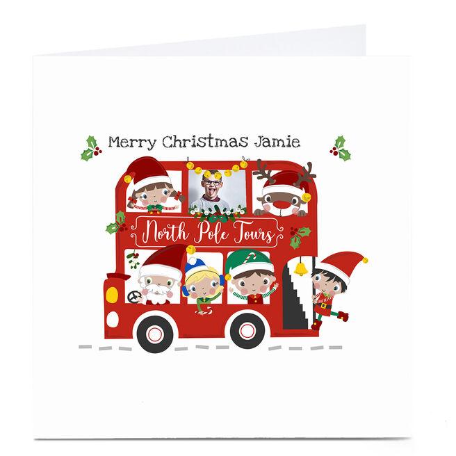 Photo Rachel Griffin Christmas Card - Tour Bus