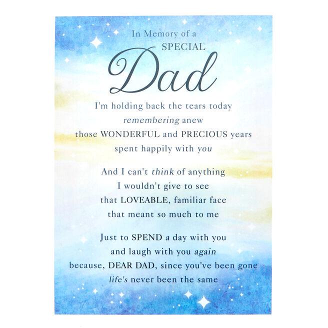 Love & Friendship Postcard - Dad, In Memory