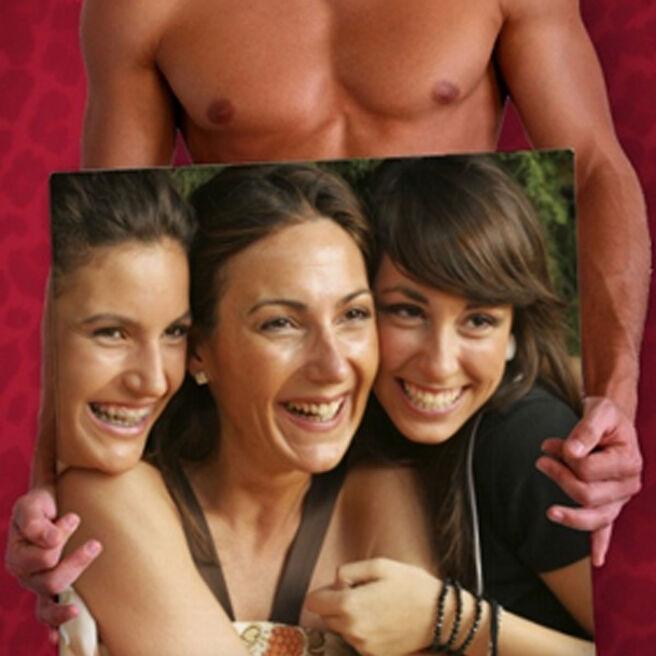 Photo Upload Card - Hot Hunk Board