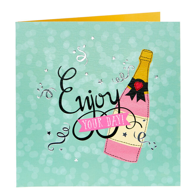 Any Occasion Card - Enjoy Your Day