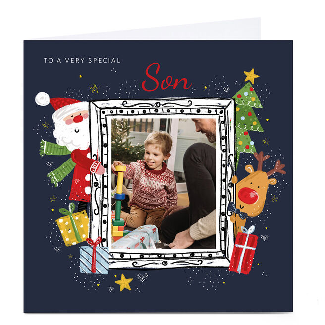 Photo Kerry Spurling Christmas Card - Festive Frame