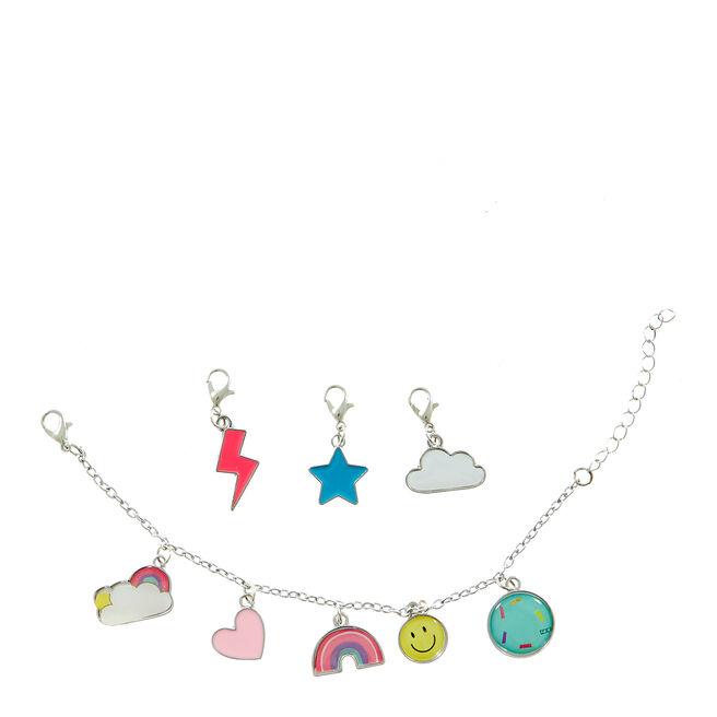 Happy Rainbows Charm Bracelet