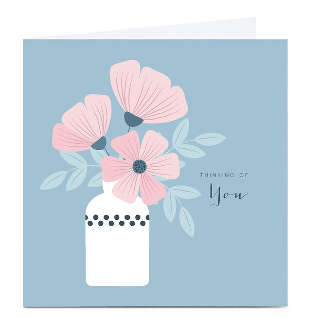 Personalised Klara Hawkins Card - Thinking Of You