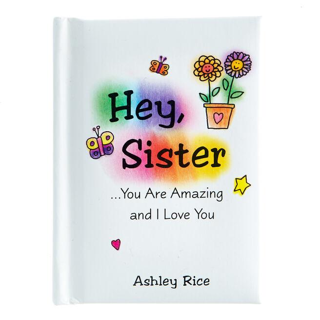 Blue Mountain Arts Keepsake Book - Hey, Sister You Are Amazing