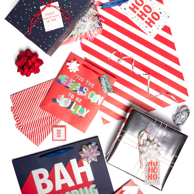 Jolly Christmas Gift Wrap Range