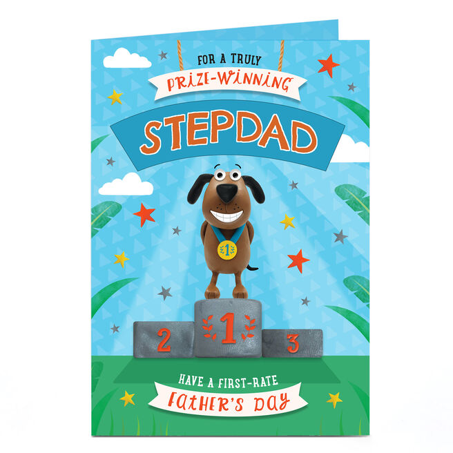 Personalised Father's Day Card - Prize Winning Any Recipient