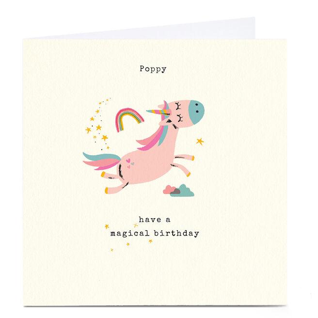 Personalised Andrew Thornton Birthday Card - Magical Birthday