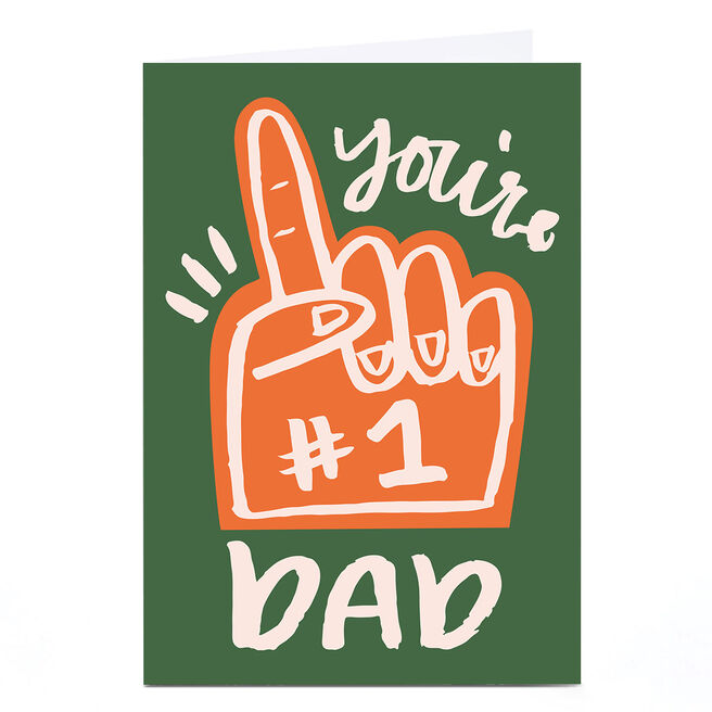Personalised Ashley Le Quere Card - You're 1 Dad