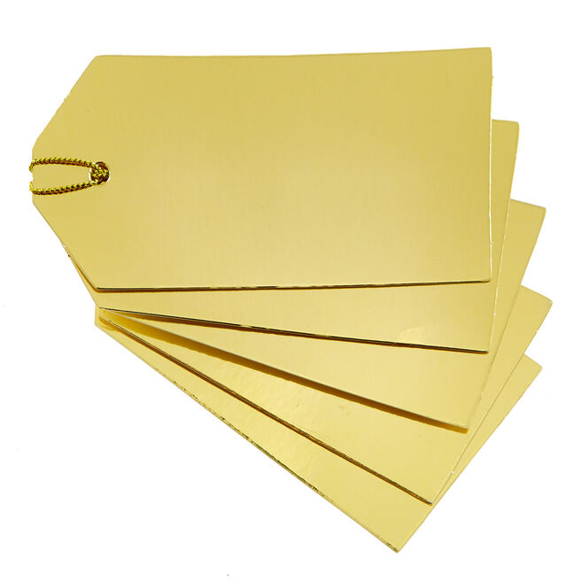 Gold Gift Tags - Pack Of 30