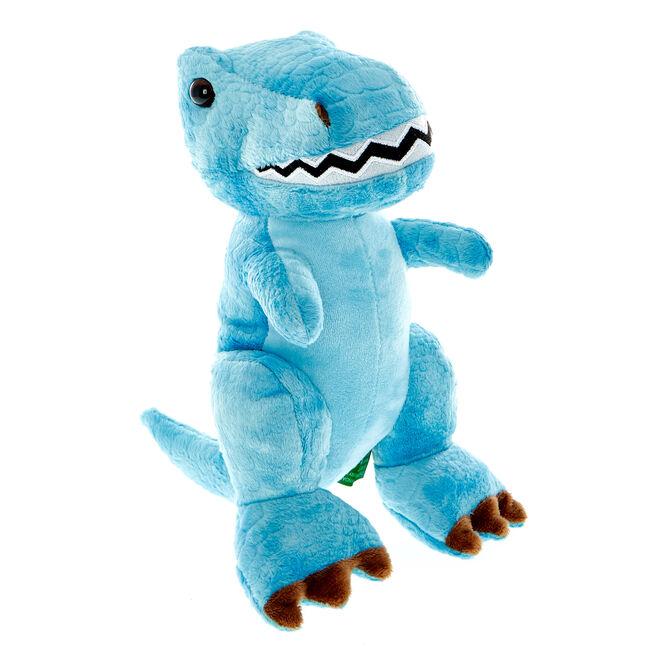 Blue Dinosaur Soft Toy
