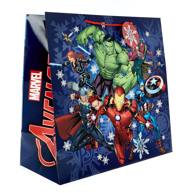 Jumbo Square Avengers Christmas Gift Bag