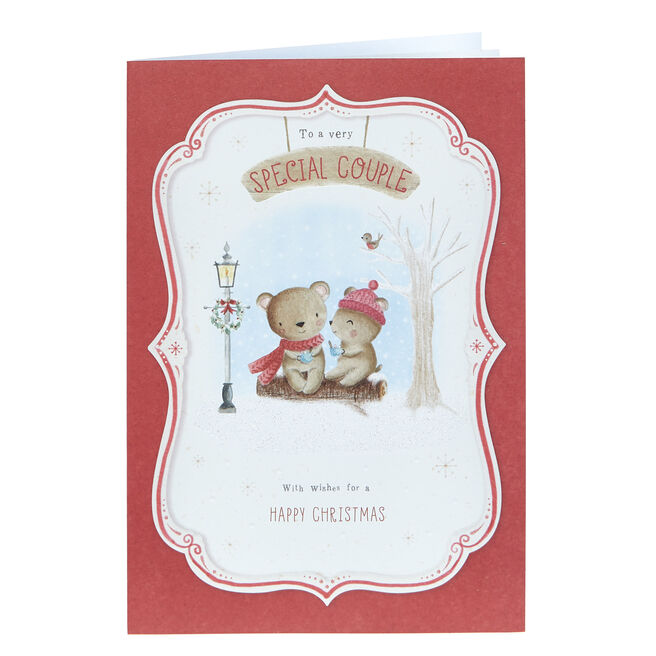 Christmas Card - For A Very Special Couple Bears
