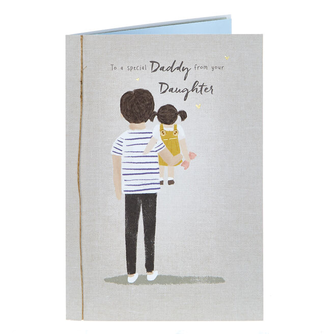 Father's Day Card - Special Daddy From Daughter