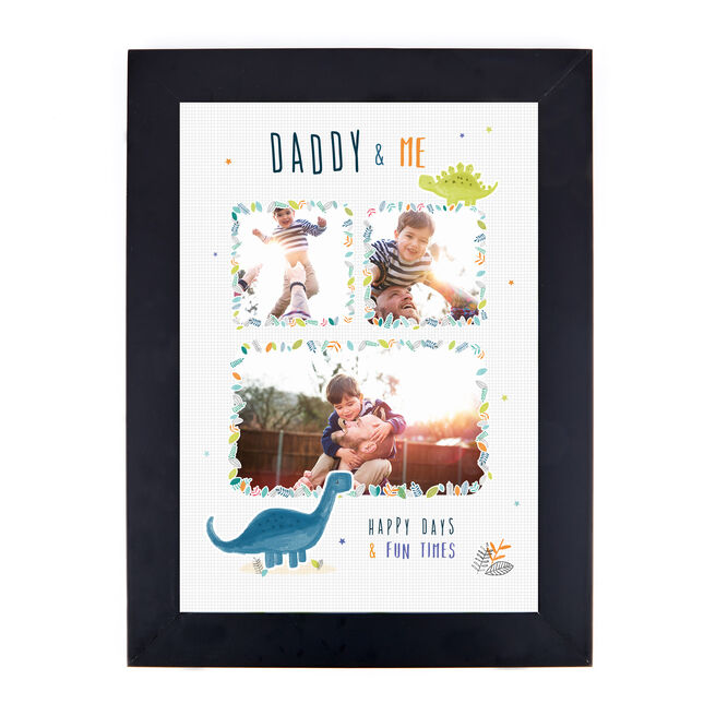 Personalised Photo Print - Daddy & Me