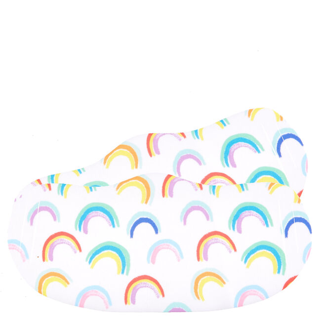 Washable Rainbow Face Coverings - Pack Of 2