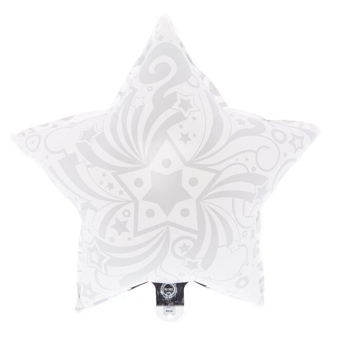 Illoom Colour-Changing Star 22-Inch LED Foil Helium Balloon