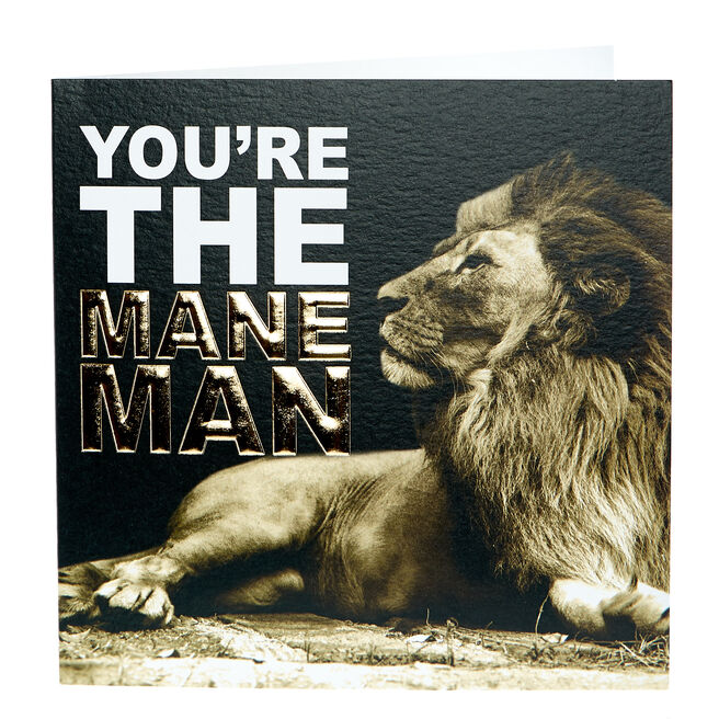 Any Occasion Card - The Mane Man