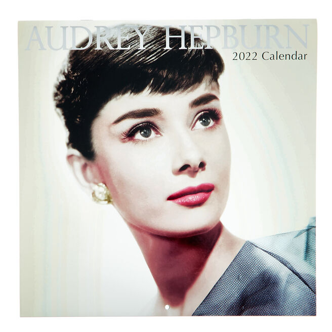 Audrey Hepburn 16-Month 2022 Calendar