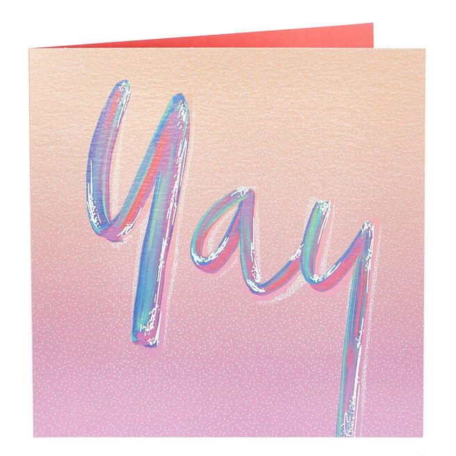 Any Occasion Card - Yay