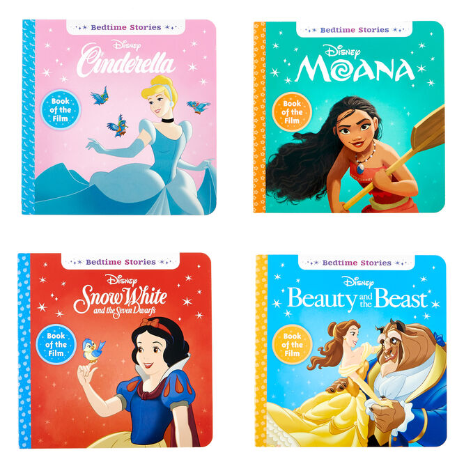 Disney Princess Bedtime Story Books - Set Of 4