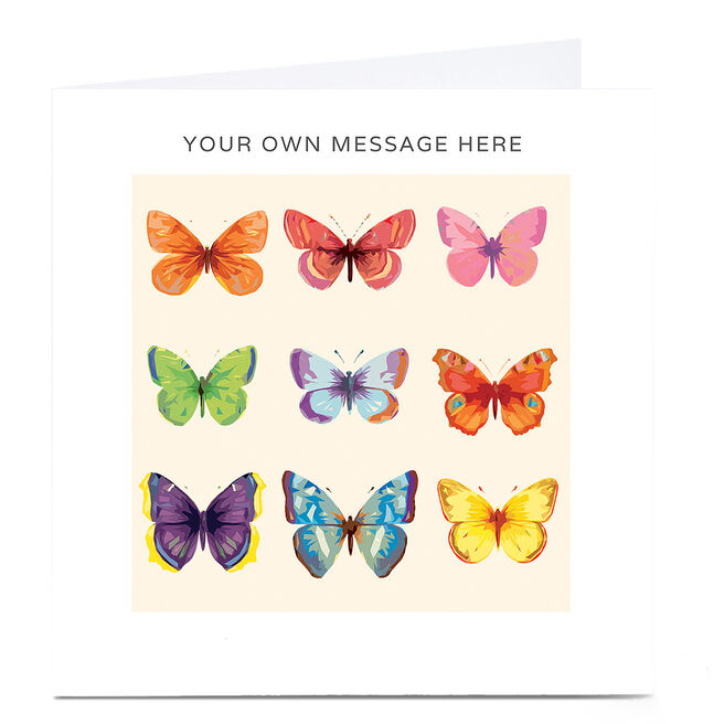 Personalised Card - Butterflies