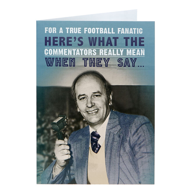 Any Occasion Card - What The Commentators Really Mean