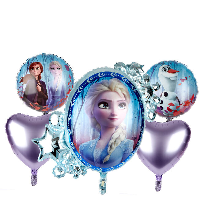 Frozen II Foil Balloon Bouquet (Deflated)